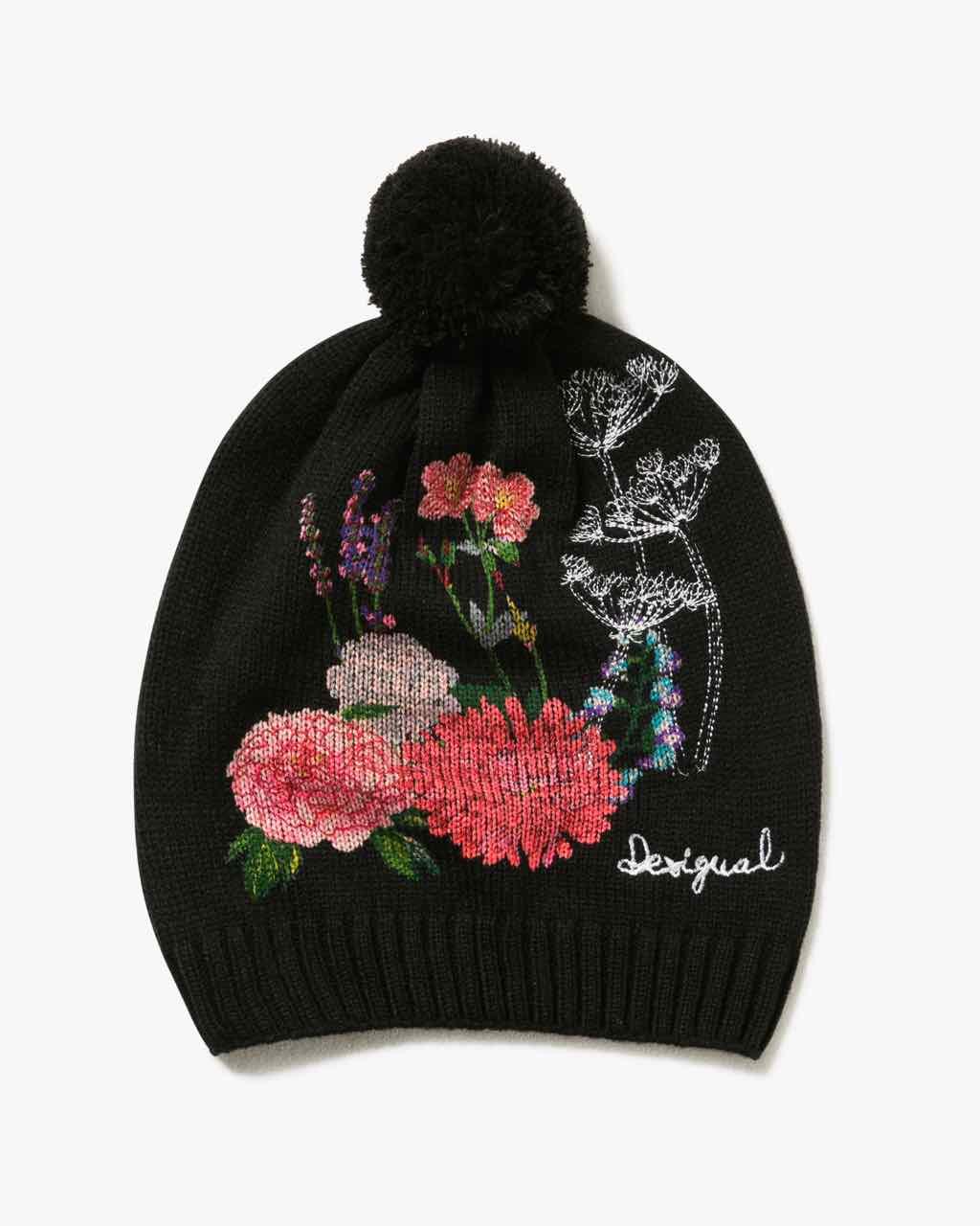 17WAHK02_2000 Desigual Hat Botanic Buy Online