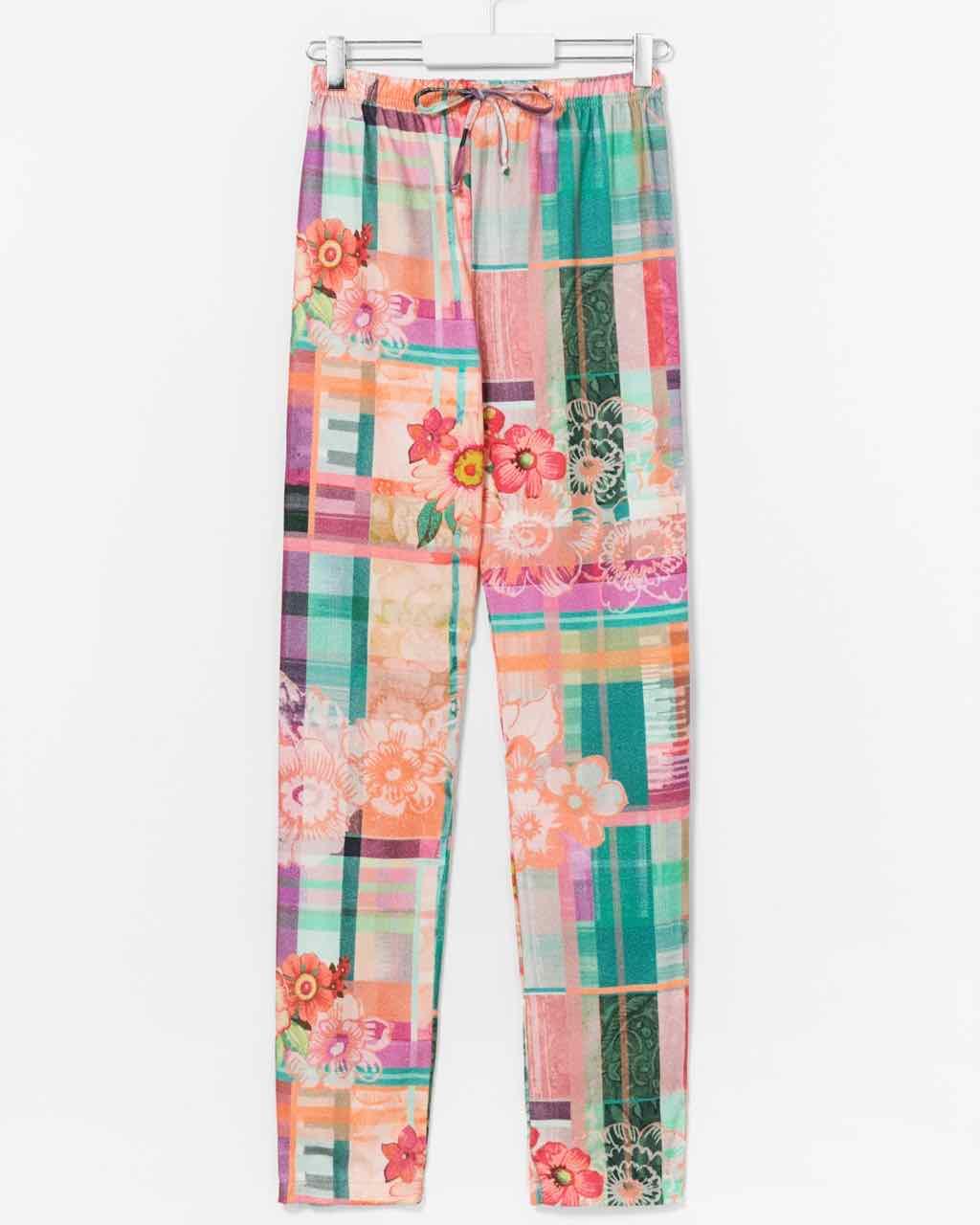 Desigual Love Tartan pants