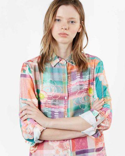 Desigual Love Tartan Sleewear