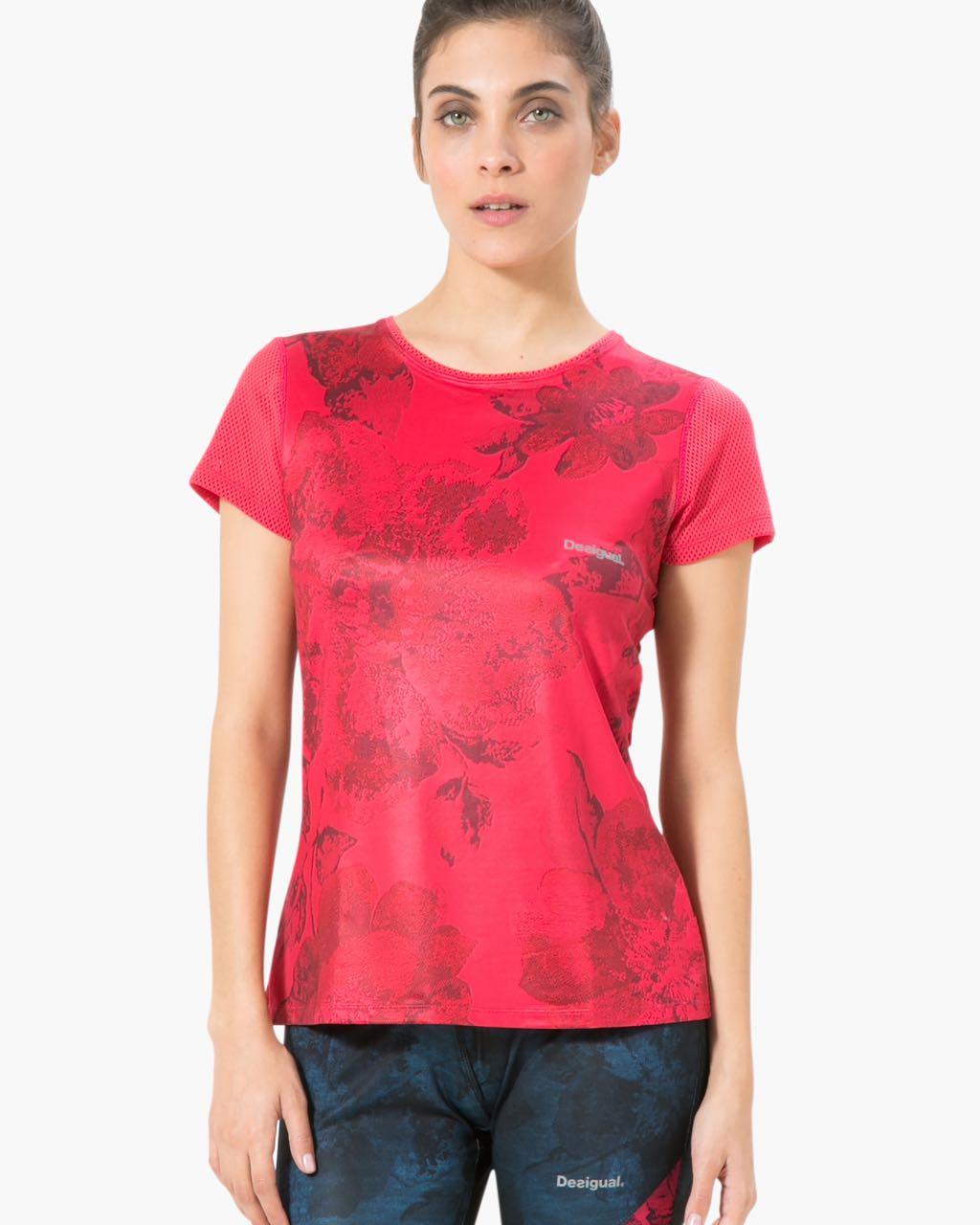 17WTRK23_3139 Desigual Sport T-Shirt Setin Tshirt Buy Online