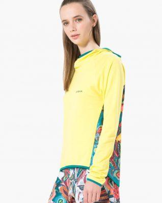 17WTRK41_4126 Desigual Sport Jacket Long Sleeve Hoodie Buy Online