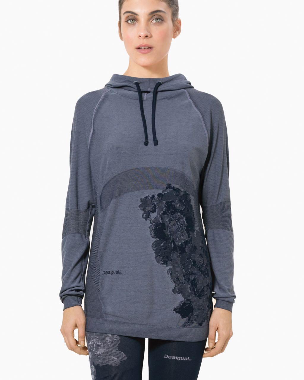 17WTRS40_5149 Desigual Run Pro Seamless Hoodie Buy Online