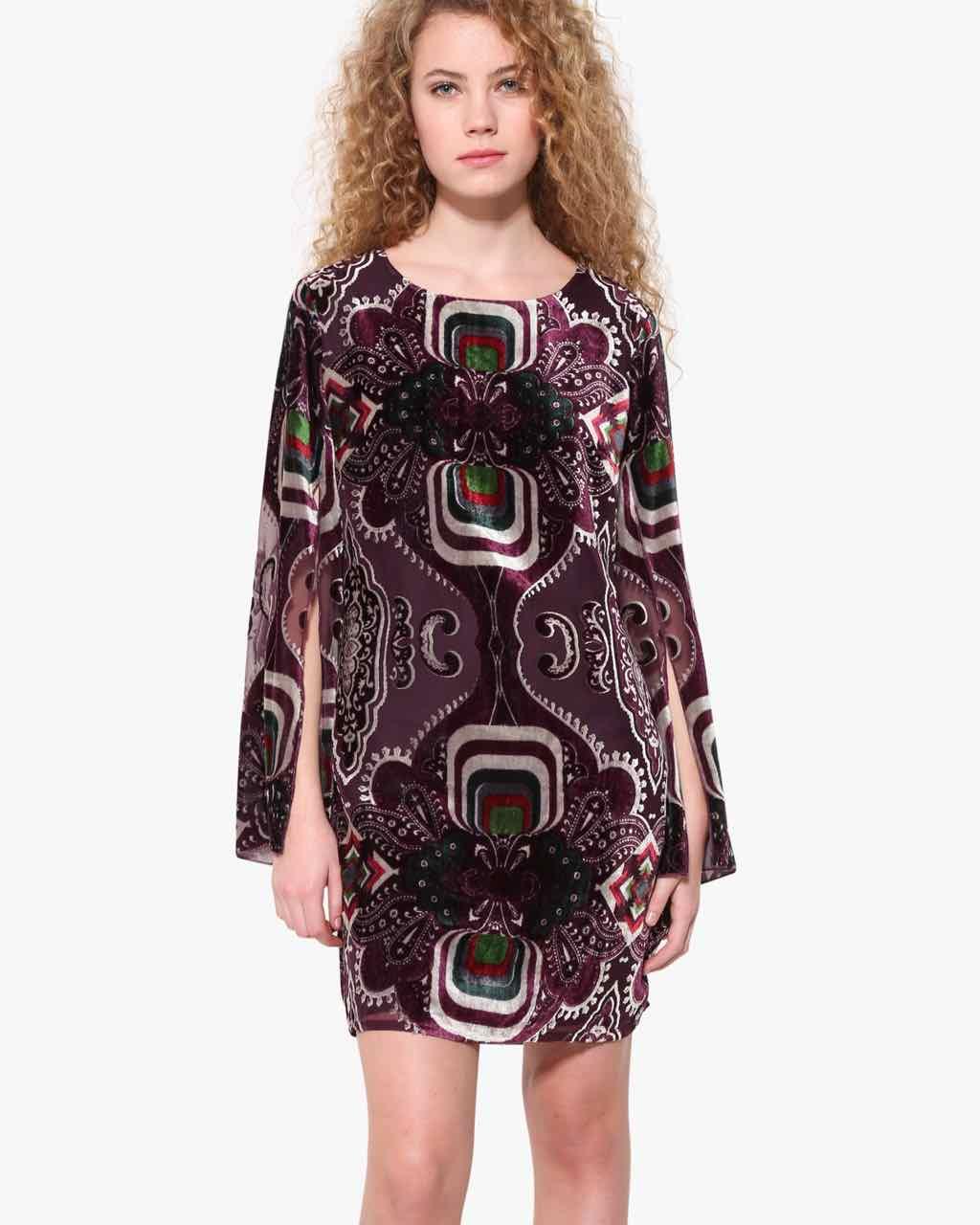 Desigual Velvet Dress