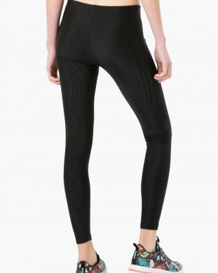 17WZRK46_2000 Desigual Sport Legging Essential Long Tight (black) Canada