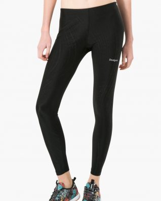 17WZRK46_2000 Desigual Sport Legging Essential Long Tight (black) Buy Online