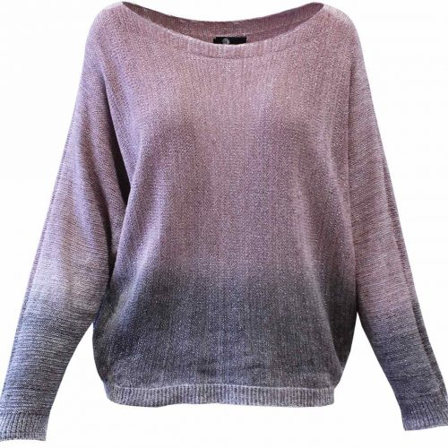 M Made in Italy Pink Fall Sweater