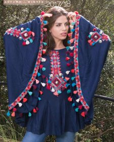 Savage Culture Poncho Ethnic