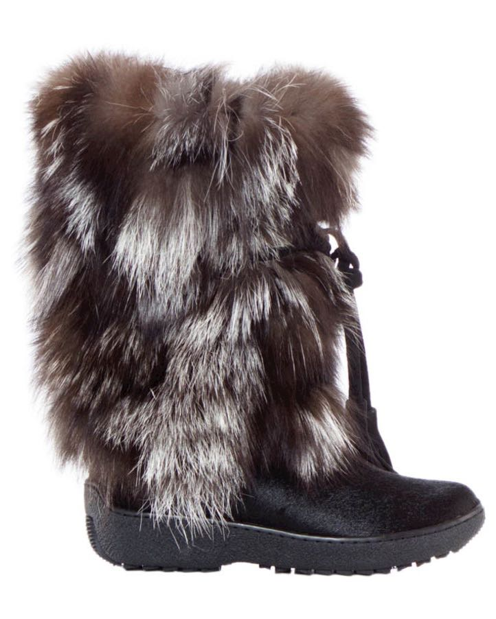 Pajar Boots with Fur Fox Trot