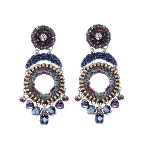 7501 Ayala Bar Earrings Nighthawk Buy Online
