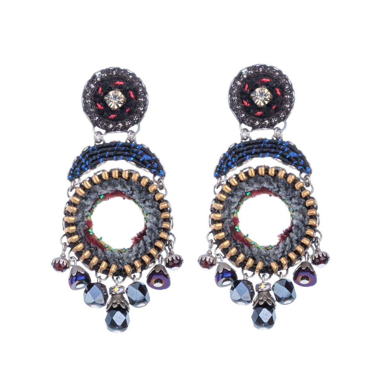 7501 Ayala Bar Earrings Nighthawk Buy Online