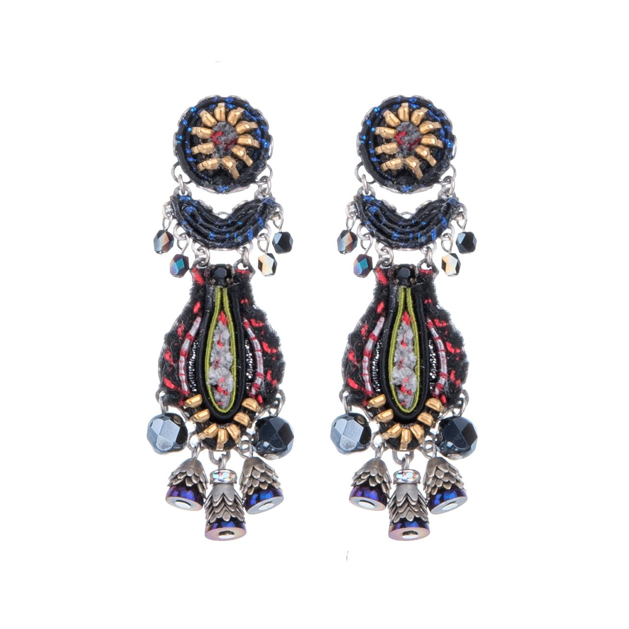 7502 Ayala Bar Earrings NIghthawk Buy Online