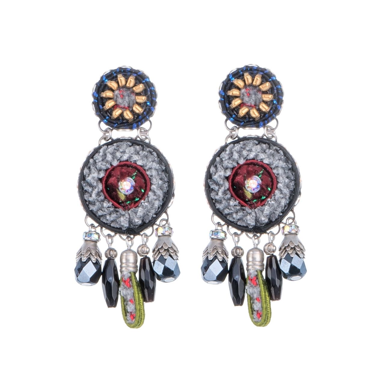 7503 Ayala Bar Earrings Nighthawk Buy Online