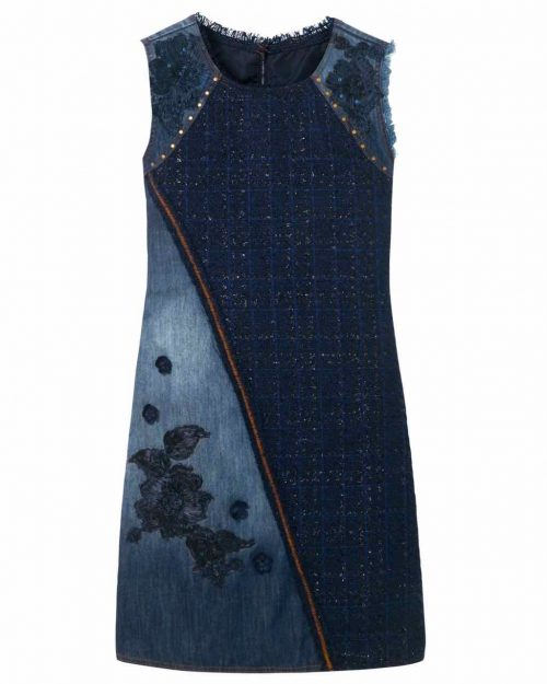 Desigual Denim Achille Blue