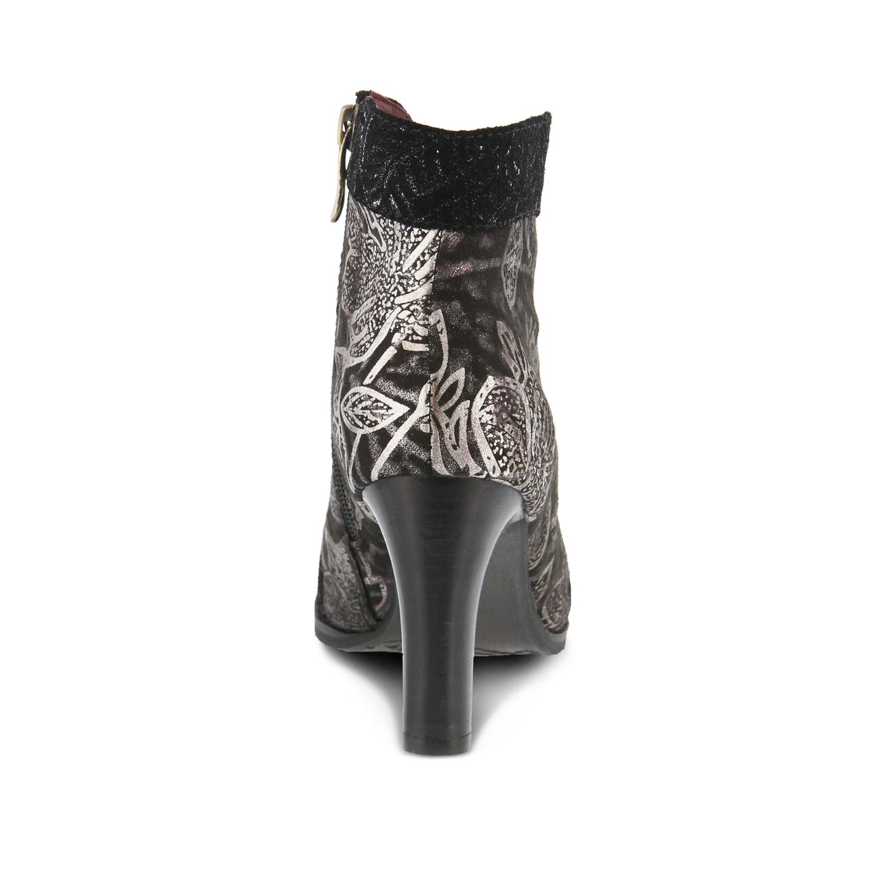 L Artiste By Spring Step Booties Lidia Black Canada