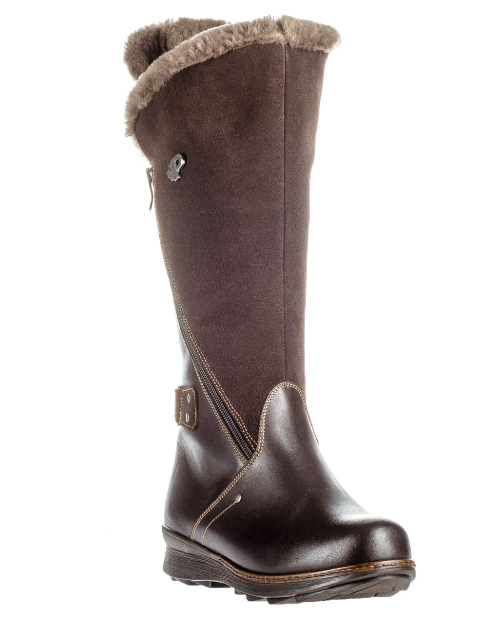 Pajar Winter Leather Boots London Brown Heritage