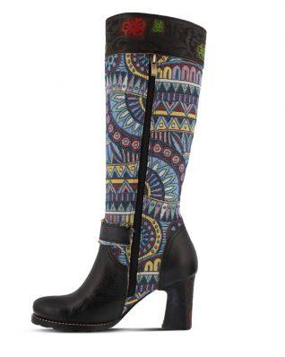 L'Artiste Natalia Black Tall Boots