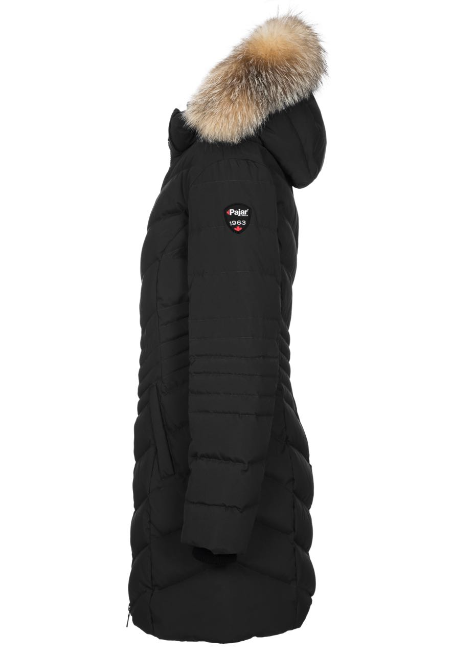 Pajar Winter Down Jacket Queens Puffer Black Buy Online