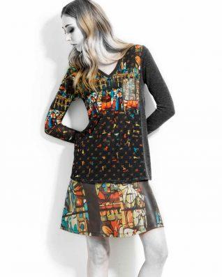 VOLT Notre Dame Pullover and Skirt