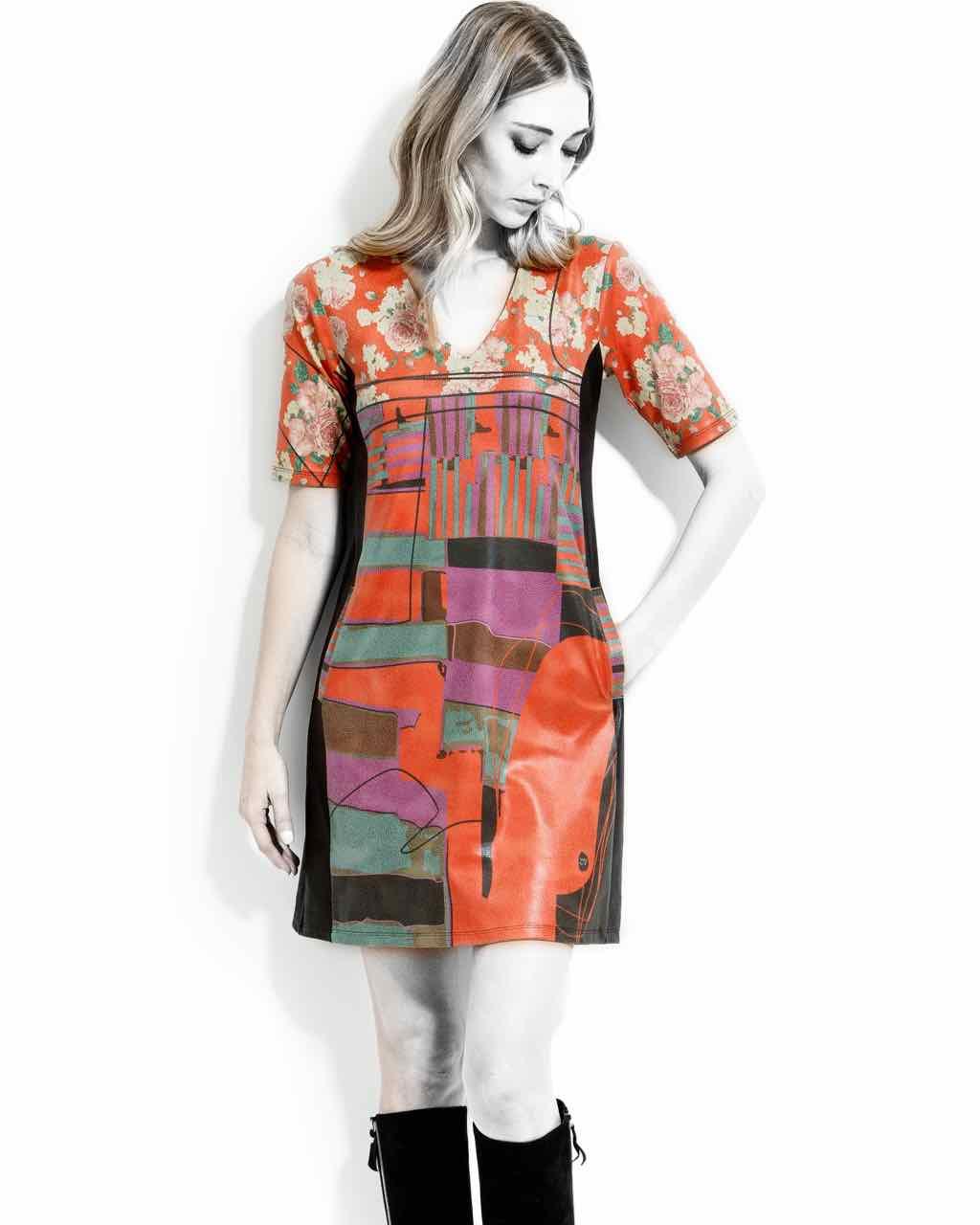 VOLT Design Leather Dress