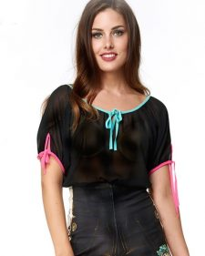 IPNG Black Blouse