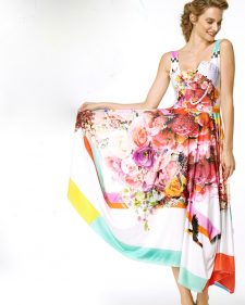 IPNG Design Long Summer Dress