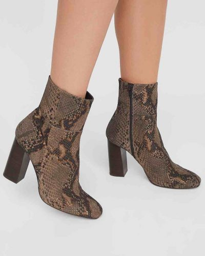 Free People Nolita Ankle Boots Taupe