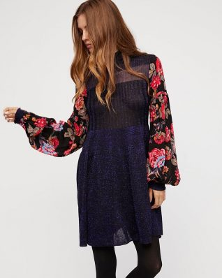 Free people Rose and Shine Sweater Dress