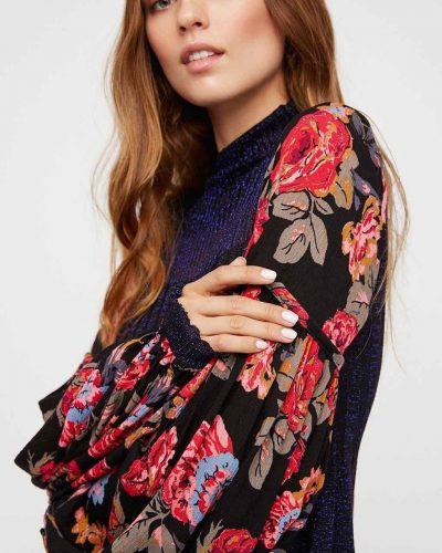 Free People Rose and Shine Knit Dress