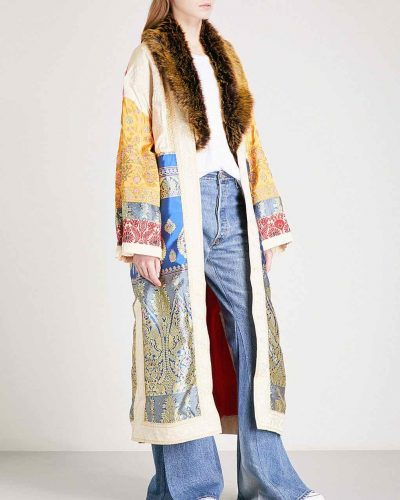 Free People Long Cat with Embroidery