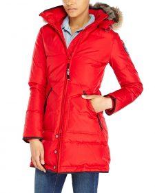 Pajar Winter Coat Cougar Red