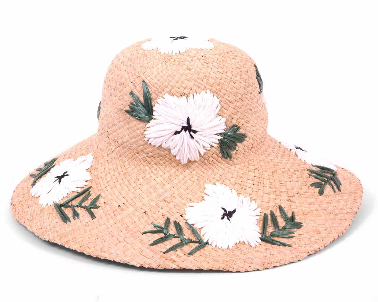 cb428973ce8 Gottex Beach Hat with White Flowers