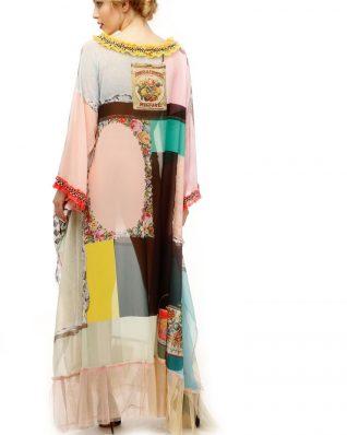 IPNG Design Long Shawl Dress