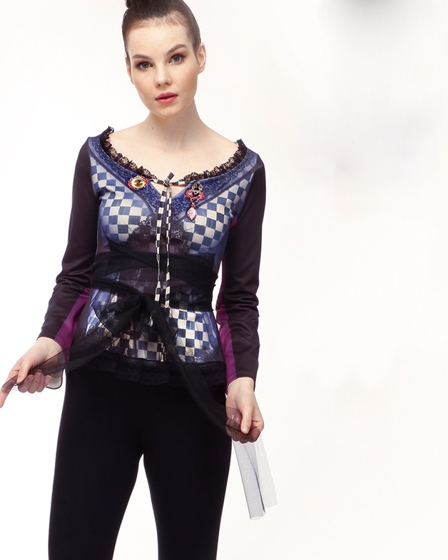 IPNG Blouse Purple