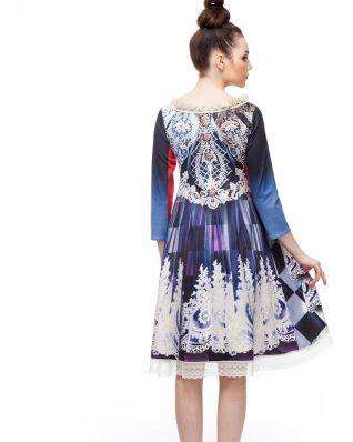 IPNG Design Dress with Fur
