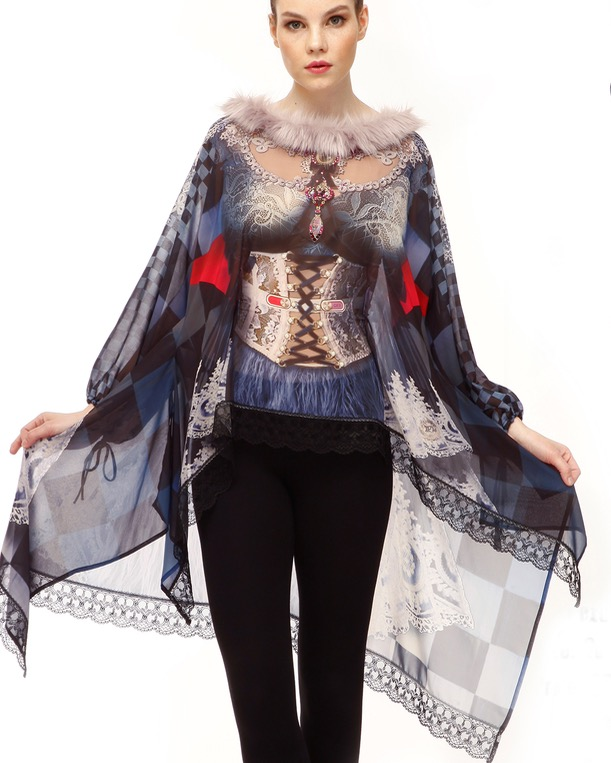 IPNG Long Tunic with Fur