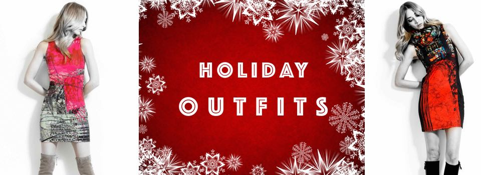 Fun Fashion Holiday Christmas Outfits