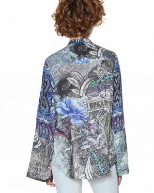 18SWCW84_5018 Desigual Shirt Canaf Canada