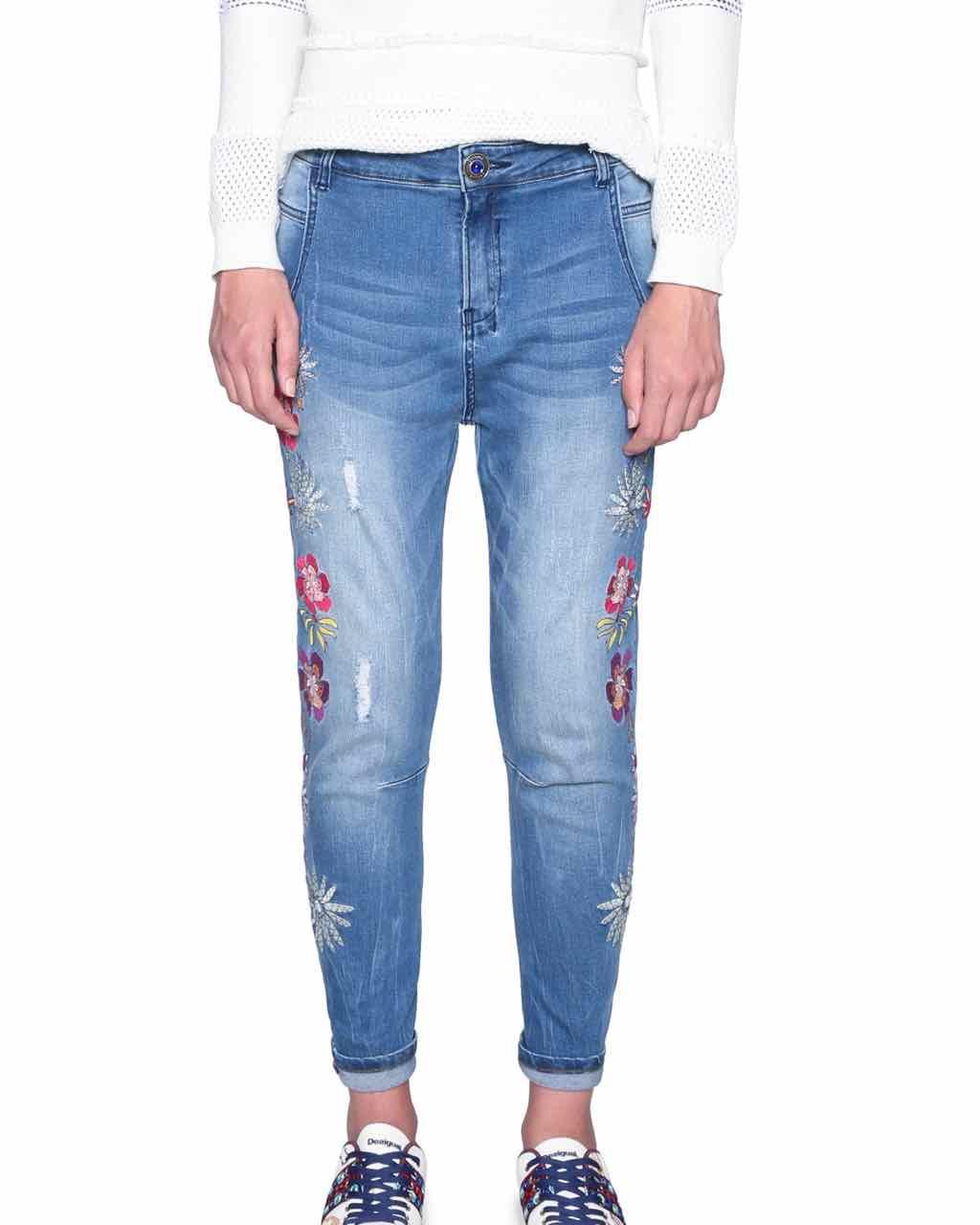 18SWDD59_5053 Desigual Jeans Brazzaville Buy Online