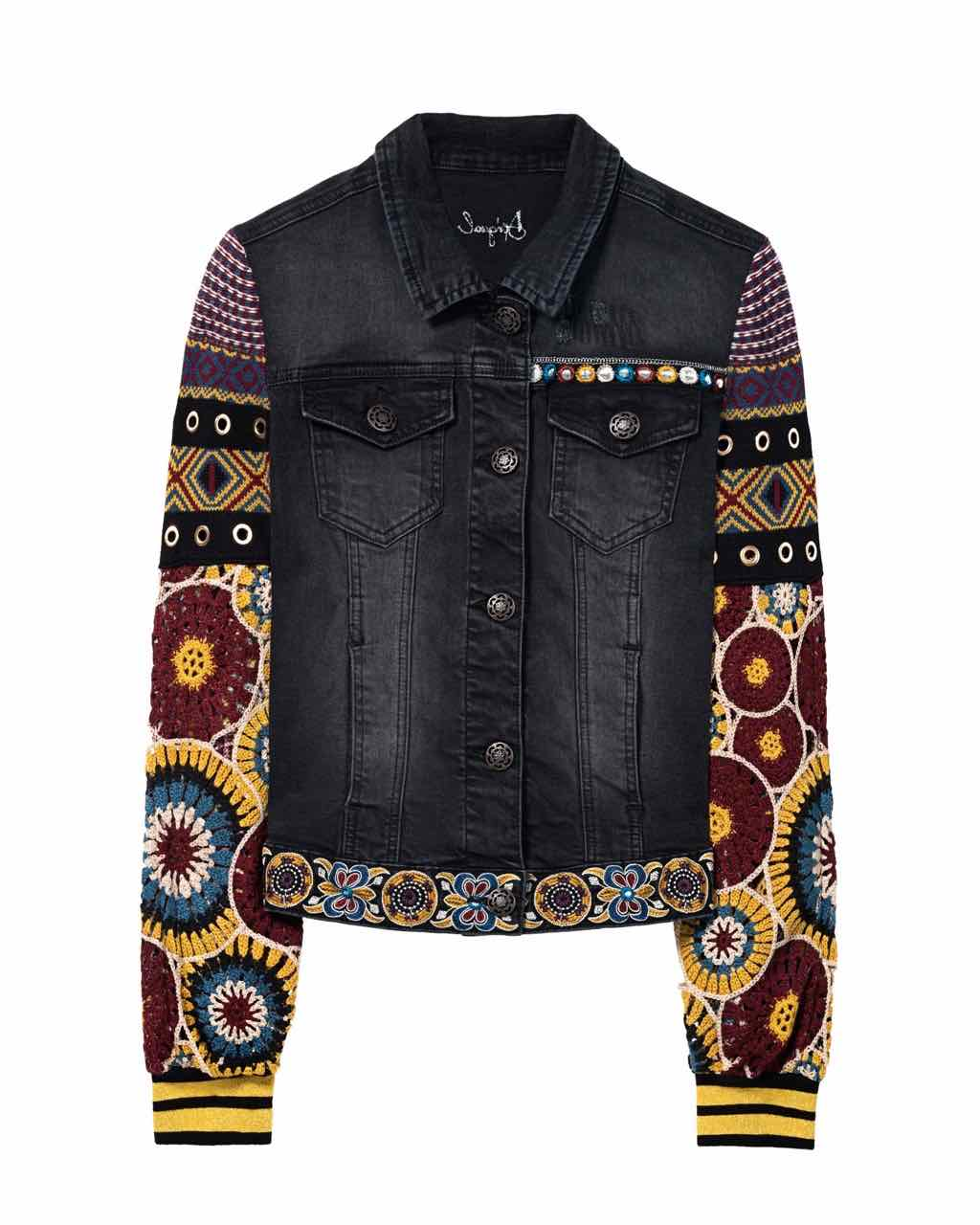 Desigual Denim Jacket Alessia 18swed19 Buy Online