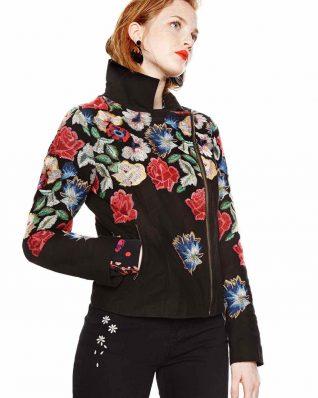 18SWEW12_2000 Desigual Jacket Fiorella Buy Online