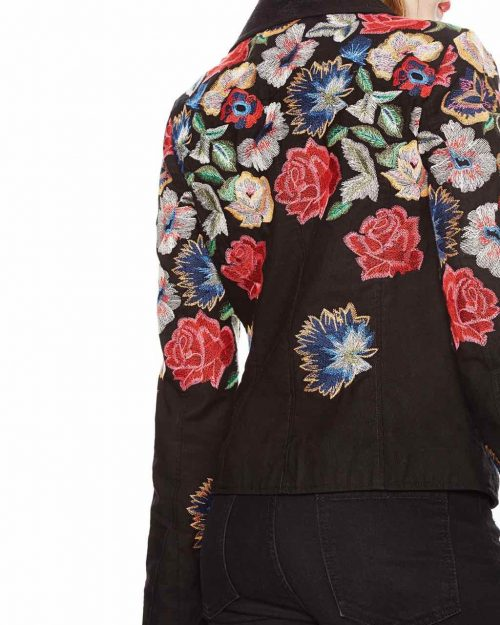 18SWEW12_2000 Desigual Jacket Fiorella Canada