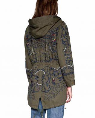 18SWEW60_4003 Desigual Coat Mariette Canada