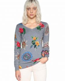 18SWJF28_2042 Desigual Sweater Perkins Buy Online