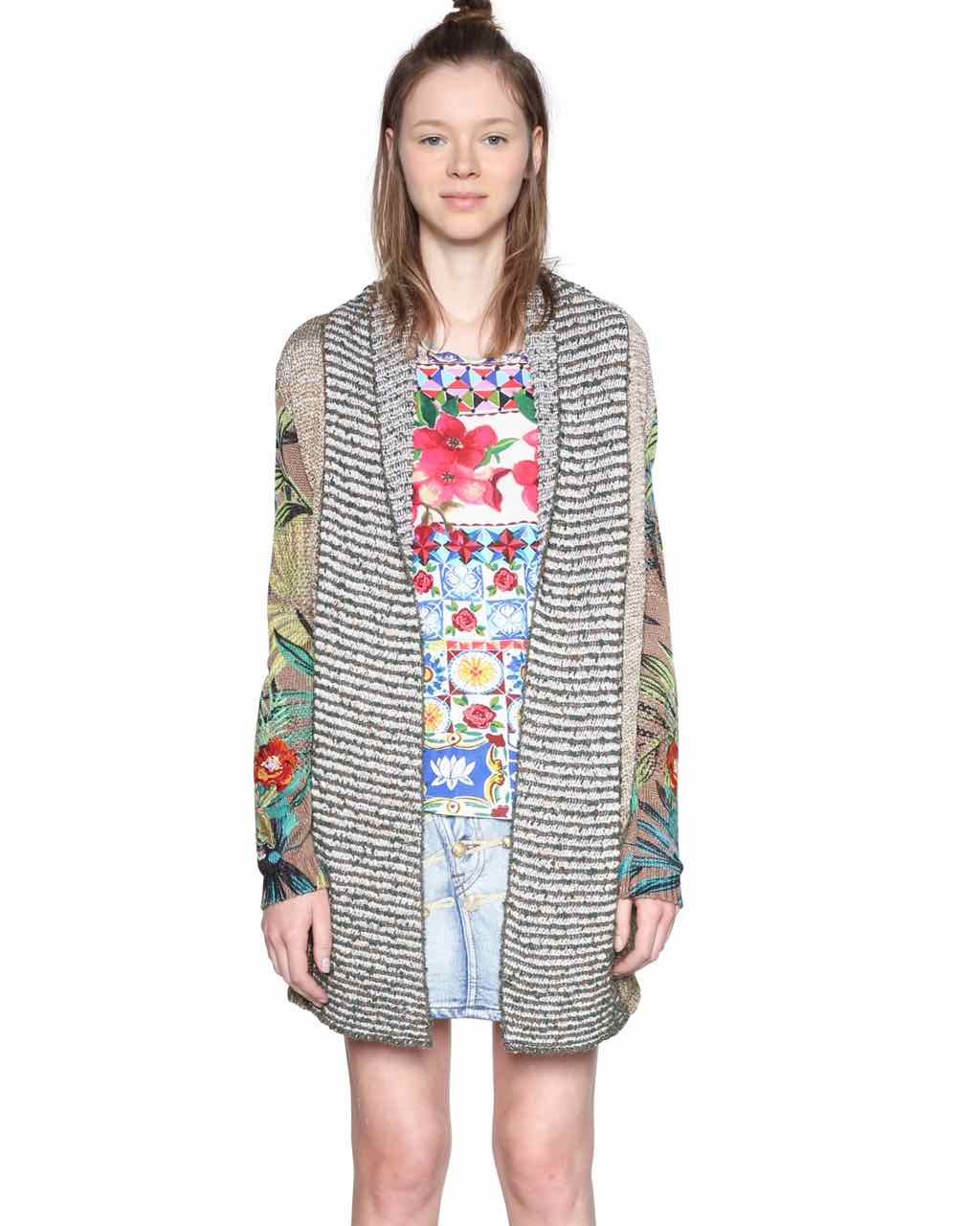 18SWJFAW_4001 Desigual Cardigan People Buy Online