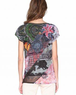 18SWTKFS_3015 Desigual T-Shirt Denes Canada