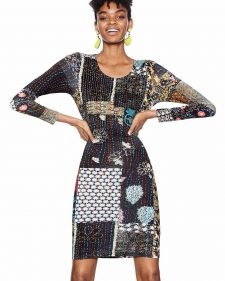 18SWVKBG_2000 Desigual Dress Natty Buy Online