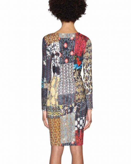 18SWVKBG_2000 Desigual Dress Natty Canada