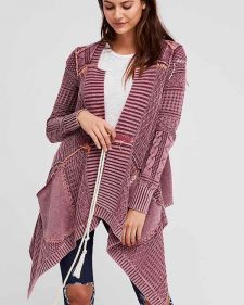 Free People Asymmetric Cardigan