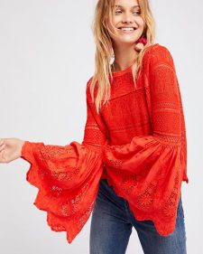 Free people Once Upon a Time Top red