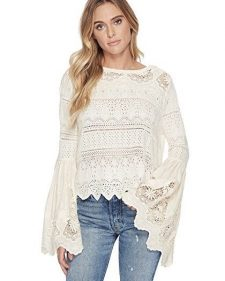 Free people Once Upon a Time Top white